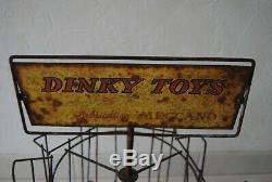 TRES RARE PRESENTOIR TOURNANT ANNEE 40/50 DINKY TOYS Meccano England