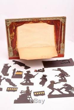 Théâtre d'ombres avec silhouettes animées