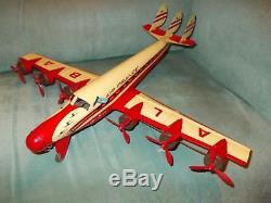 Toy Sud Rare Du Ancien Jouet La Air Avion Tin Tole Croix Joustra En Nn0X8wOPkZ