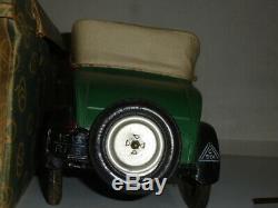Tole Jouet Citroen C6 Cabriolet 1/10 1929 Exceptionnelle En Boite D'origine