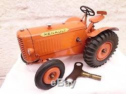 Tracteur Mecanique Tole Cij Complet Fonctionne Jouet Andre Citroen Jrd Tbetat