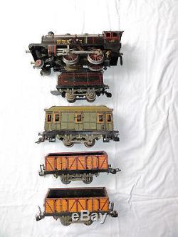 Train Jep superbe Coffret Grosse Locomotive 1927 compatible hornby Bing