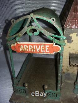 Train O 0 Ancienne Gare de Paris Arrivée Départ FV EDMOND FAIVRE JEP défauts