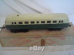 Train électrique ancien échelle 0 autorail marque JEP