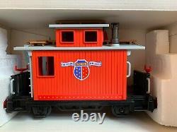 Train western Playmobil neuf en boîte locomotive 4054 et wagon caboose 4123