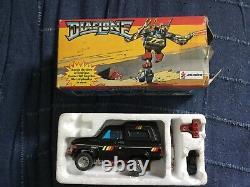 Transformer, Trailbreaker, Diaclone G1, 1984, Toyota 4X4 Avec Sa Boite, Joustra