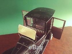 Très Rare Jouet Ancien Tole Voiture Citroen B2 Paris Taxi