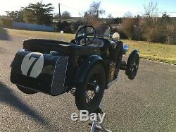 Tres Rare Voiture A Pedales Bentley Stevenson Pedals Car Tretauto