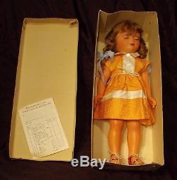 Très rare 1ère poupée Marie Françoise Modes & Travaux 1958 boite d'origine