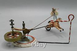Très rare jouet charles rossignol de 1887 l'écuyère en excellent état