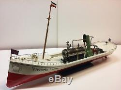 Tucher & Walther Bateau à vapeur Victoria Luise (59cm)