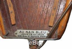 VOILIER DE BASSIN AU NAIN BLEU / jouet ancien
