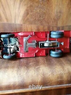 Vebe Camion Studebacker Pompier Paris Tole Double Echelle A Completer ID Cij Jrd