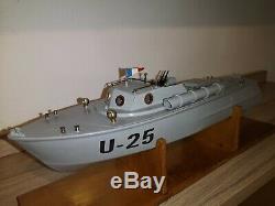Vedette militaire GIL U25, jouet ancien