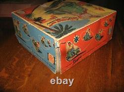 Vespa la hotte saint nicolas, boite vide, vintage, rare, collection jouet anciens