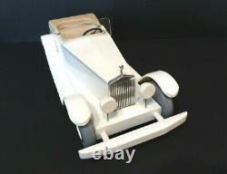 Vilac Aroutcheff Rolls Royce Calandre argent Massif 41 Cm 150 Exemplaires 1985