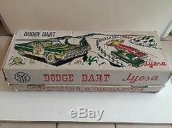 Vintage DODGE DART JYESA FILOGUIDEE DANS SA BOITE VOITUREJEU JOUET TOY ANCIEN