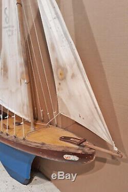 Voilier bateau canot de bassin Vogu'Enmer VP80 Luxe (rare)