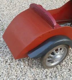 Voiture A Pedale Annees 1950