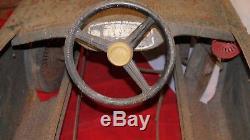 Voiture A Pedale En Tole Devillaine Freres 1960 Peugeot 204 950 Df42 A647