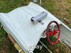 Voiture A Pedales Ancienne Pierre Guy Ambulance Pedal Car Pedale Simca