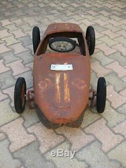 Voiture A Pedales Morellet Guerineau Ferrari Spa Mg