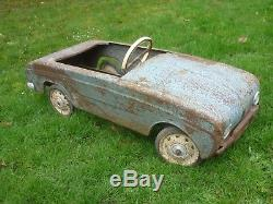 Voiture Ancienne A Pedale Dauphine Gordini
