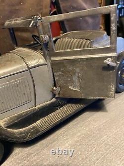 Voiture Tole C4 Citroen Cabriolet Mecanique Jep Cij