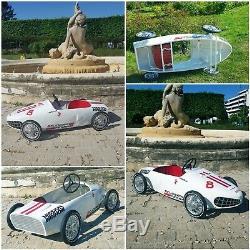 Voiture à Pedales, Pedal Car, Tretautos, Ferrari spa N8 Morellet Guérineau