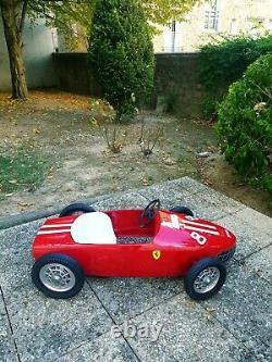 Voiture à Pedales, Pedal car, Tretautos, Carritos Ferrari spa Sharknose Mg