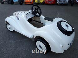 Voiture à pédales BMW 328 ROADSTER Blanche TOYS TOYS enfant à partir de 3 ans