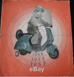 Voiture à pédales SCOOTER VESPA Pierre GUY (ou AUTOGUI) 1953