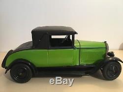 Voiture coupé CITROEN jouet Citroen grand modèle 40 cm époque jep cr