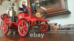 Wilesco, Western Germany Autopompe à vapeur vive véhicule pompiers